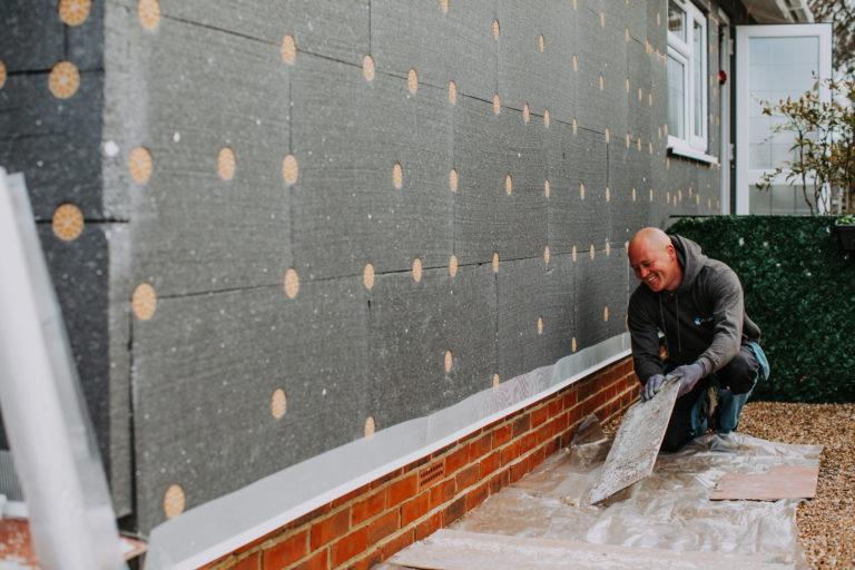 Black Box Park Home Refurbishments worker