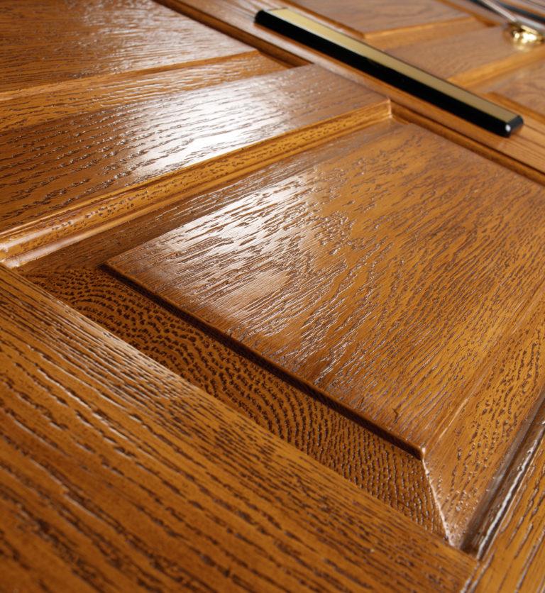 Park Home Door wood effect