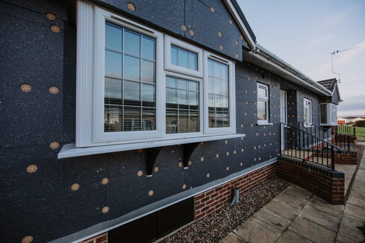 Service, Park Home External Wall Insulation,