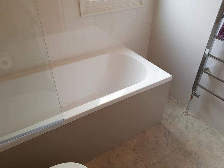 Black Box Mobile Home Bathroom Refurbishment