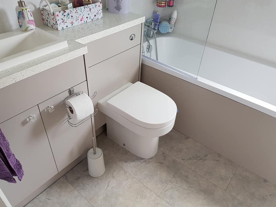 Platinum Park Home Services Bathroom Project