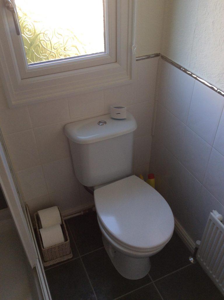 Park home bathroom before