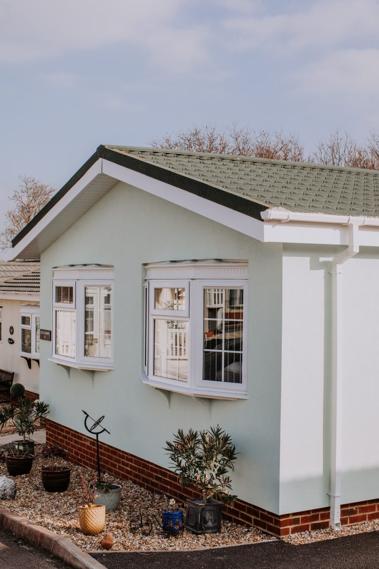 Pitwell Park Home External Wall Insulation