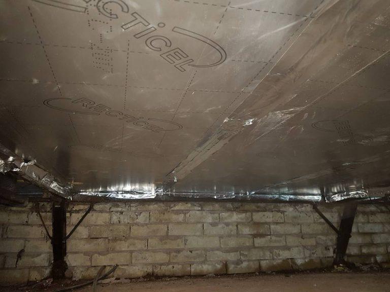 Park Home Underfloor Insulation