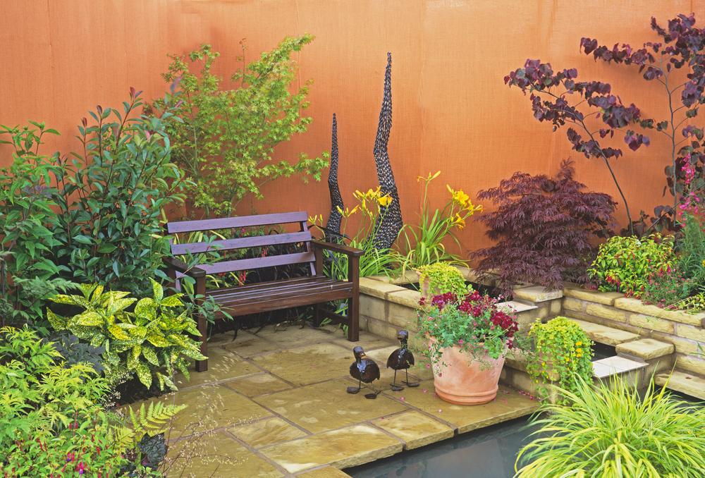 Park home garden ideas