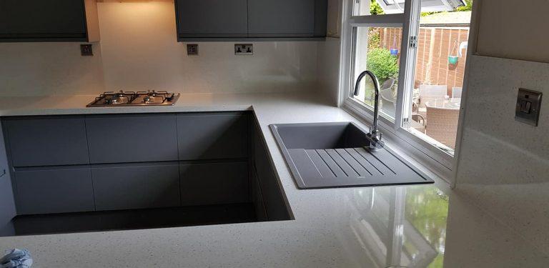 park home kitchen refurbishment